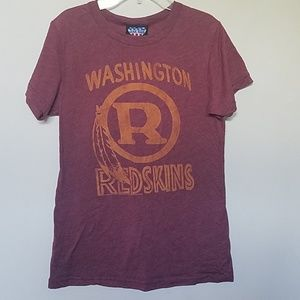 Junk Food Redskins Womens T Shirt